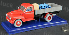 TINTIN L'ILE NOIRE Red Truck 1/43 Diecast Model