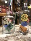 Vintage+czech+art+deco+Bar+Set+hand+painted+glass+decanter+cocktail+shaker+1935