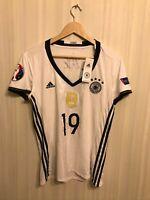 5+/5 Frauen Deutschland 2016/2017 Home Size L Germany shirt jersey trikot Ladies