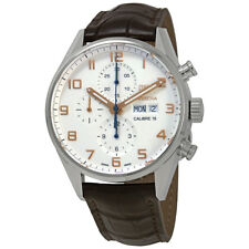 Tag Heuer Carrera Chronograph Automatic Silver Dial Mens Watch CV2A1AC.FC6380