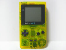 """Game Boy LGIHT Clear Yellow Toys R Us Ver Handheld System"" 100% Works L10671975"