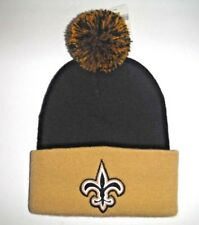 3ac87fed3b180a New Orleans Saints Authentic Women's Beanie Toque Knit Hat With Pom NFL