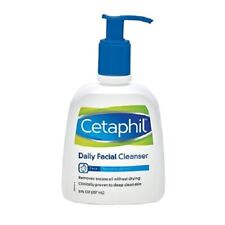New Cetaphil Daily Facial Cleanser for Normal to Oily Skin 8 Fl. Oz. Bottle