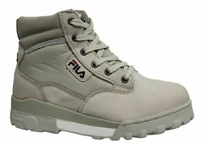 Fila Grunge Mid Lace Up Womens Hiker Boots Leather Textile Hiking 1010160 00J