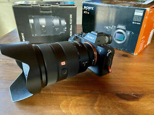 Sony Alpha a7R III 42.4 MP Digital Camera + 24-70mm f2.4 GM lens