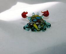 Art Blown Glass Murano Figurine Glass Figurine Crab small