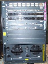 Cisco Catalyst 6500 WS-C6509 09-Slot Networking Switch Chassis With Plug-Ins