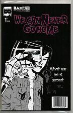 We Can Never Go Home #1 MISFITS BAM! Variant SIGNED by Rosenberg, Hood & Banner