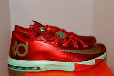 358f4f09cf83 Nike KD VI 6 Christmas Sz 10 DS W Receipt Crimson Red