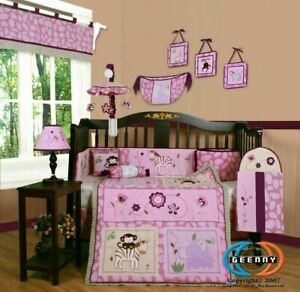 13PCS Animal Kingdom Baby Nursery Crib Bedding Sets - Holiday Special