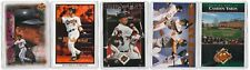 5 COUNT OF 1990s COSTACOS 4X6 POSTER CARDS CAL RIPKEN ORIOLES AD