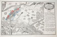 c1760 Kay Kije Paltzig Plack Siebenjähriger Krieg Kupferstich-Plan