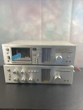 Sony TA 636 /TC-U60 Integrated Stereo Amplifier And Stereo Cassette Deck. Read