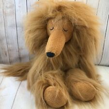 Plush Afghan hound dog by Jelly Cat
