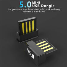 USB Bluetooth V5.0 Wireless Mini Dongle Adapter For PC Laptop Mobile Phone New