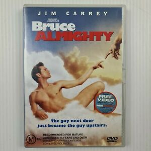 Bruce Almighty DVD - Jim Carrey - Region 4 PAL - TRACKED POST