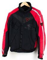 Dainese Hommes Coupe Vent Imperméable Moto Manteau Veste Taille 50 Kz783