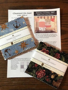 Thimbleberries Club Extra Project - CHARMED I'M SURE - Little Pillow Quilt Kit