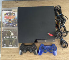 Sony PlayStation 3 - PS3 Black Console System - Bundle -tested