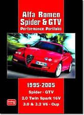 Alfa Romeo Spider and GTV Performance Portfolio 1995-2005 by Brooklands Books Ltd (Paperback, 2005)