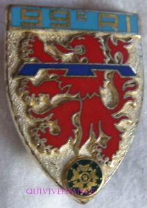 IN10152 - Insigne 99° Régiment d'Infanterie, écu, relief, épingle sertie