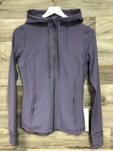 NWT Lululemon Define Hooded Jacket *Nulu Sz 8 PPLQ Purple Quartz - 50736