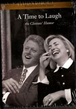 """A TIME TO LAUGH  the Clinton""""s humor DVD Brand New"""