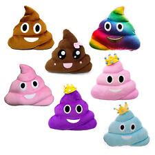 13Inch Poop Poo Family Emoji Emoticon Pillow Stuffed High Quality Plush Cute Toy