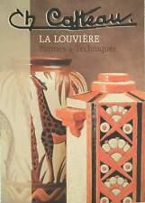 CATALOGUE/CATALOG : CHARLES CATTEAU (boch keramis,emaux,grès,vase art deco)
