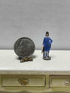 Vintage Artisan C PONGRACIC '82 Porcelain Man Figure Dollhouse Miniature 1:12