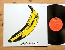 The Velvet Underground & Nico - Same LP 1967 Polydor 2459 358 >Andy Warhol Mint