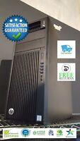 HP Z440 WORKSTATION XEON E5-1650V4 3.6GHz 256SSD 64GB WIN 10 PRO NVIDIA K1200