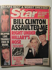 STAR Magazine 4-7-1998. Bill Clinton Sexual Harassment! Leonardo DiCaprio!