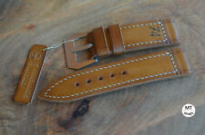 Cinturino artigianale 26mm Leather Watch Strap Vintage 74 Handmade Pam Italy 26