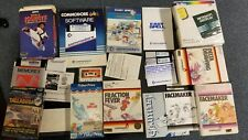 Miscellaneous Lot of Commodore 64 Items, Games, Manuals, Disks, CDs, Books