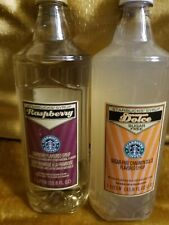 Starbucks Syrup RASPBERRY & CINNAMON Dolce each 1 Liter 33.8 fl oz Bottle