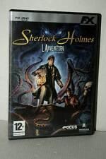 SHERLOCK HOLMES L'AVVENTURA GIOCO USATO BUONO PC DVD VERSIONE ITALIANA GD1 51331