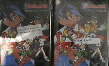 BEYBLADE FULL SET OF TRADING CARDS X144+BINDERS BASE/FOILS