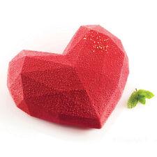 Silikomart Stampo amore Origami Tortiera Silicone Forno torte Cuore Stampi