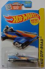 2015 Hot Wheels HW OFF-ROAD Ice Shredder 109/250 (Blue)(Clear Wheels Version)