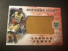 Lebron James 2013-14 SP Authentic Supreme Court GU Floor #SC-9 - 1:216 Packs!!!