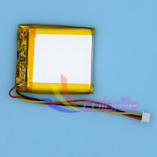 3.7V 800mAh 603040 3wire Liion Li-po Li-Polymer Rechargeable Battery for GPS MP3