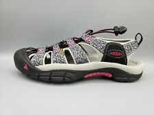 KEEN Women's Newport H2 Black/Bright Rose Outdoors Sandals Size 10.5