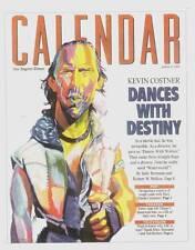 L.A. TIMES CALENDAR magazine April 9, 1995 - Kevin Costner, Jules Feiffer
