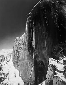 1972 Vintage ANSEL ADAMS 14X11 MATTED Photo Engraving Monolith Face of Half Dome