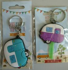 NEW Collectable Caravan Key Cover Keyring (2 Designs) FREE UK P&P