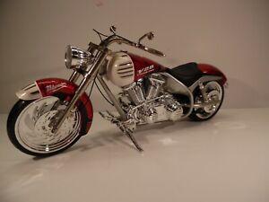 "Iron Legends Arlen Ness 1/6 Custom Motorcycle 12"" Figure Fits Gi Joe Dragon"