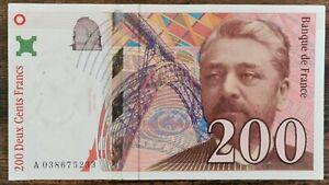 Billet de 200 francs Gustave EIFFEL 1996 FRANCE A038675233