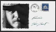 Ronnie Van Zant Lynyrd Skynyrd Featured on Collector's Envelope *A1016