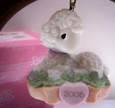 Precious Moments Ornament 2006 Dated Lamb 610007 Nib * Free 1St Class Shipping